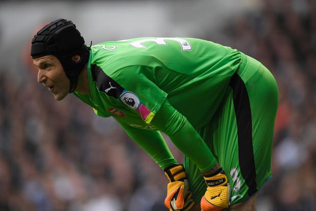 Arsenal goalkeeper Petr Cech. Pic: Reuters