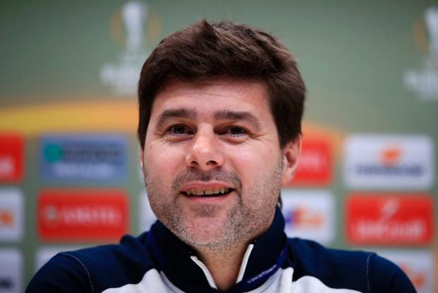 Spurs boss Mauricio Pochettino. Photo: PA
