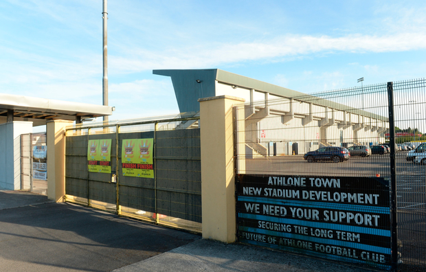 Athlone Town Stadium in Westmeath. Photo by Oliver McVeigh/Sportsfile