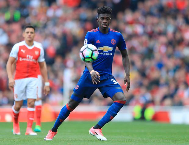Axel Tuanzebe. Pic: Getty