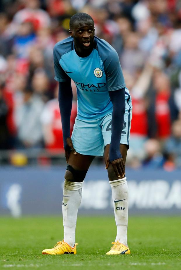 Pep Promises Toure Cake But No Contract Guarantee Herald