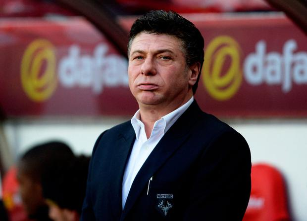 Walter Mazzarri has been sacked as Watford boss. Photo: Anna Gowthorpe/PA Wire