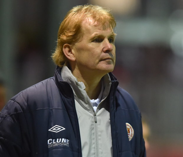 Liam Buckley, manager of St Patrick's Athletic