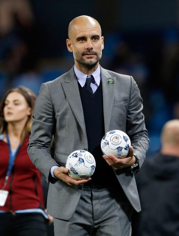 Pep Guardiola. Photo: PA