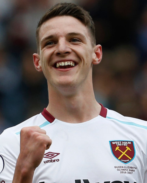 West Ham's Declan Rice