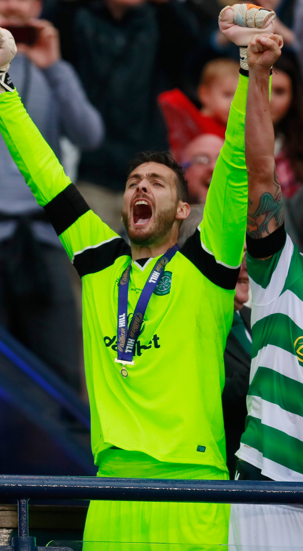 Celtic keeper Craig Gordon. Pic: Reuters