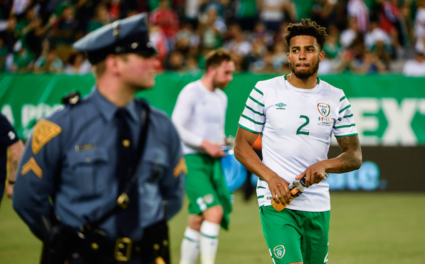 Cyrus Christie looks nailed-on to be right back tomorrow. Photo: Sportsfile