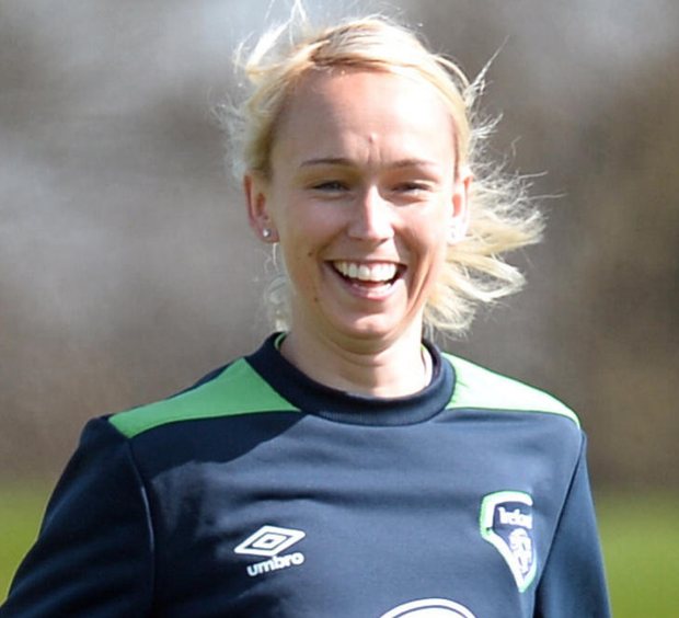 Ireland striker Stephanie Roche