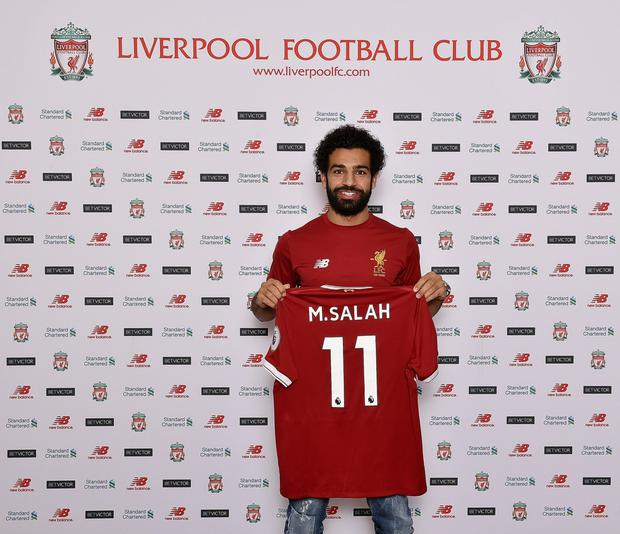 Mohamed Salah. Pic: LiverpoolFC