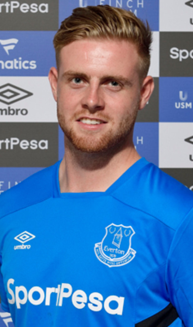 Everton's Sam Byrne. Photo: Anthony McArdle