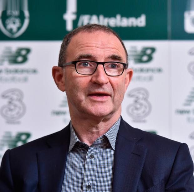 Ireland manager Martin O'Neill, pictured at yesterday's FAI AGM in Kilkenny. Photo: Sportsfile
