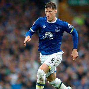 Everton's Ross Barkley. Photo: PA