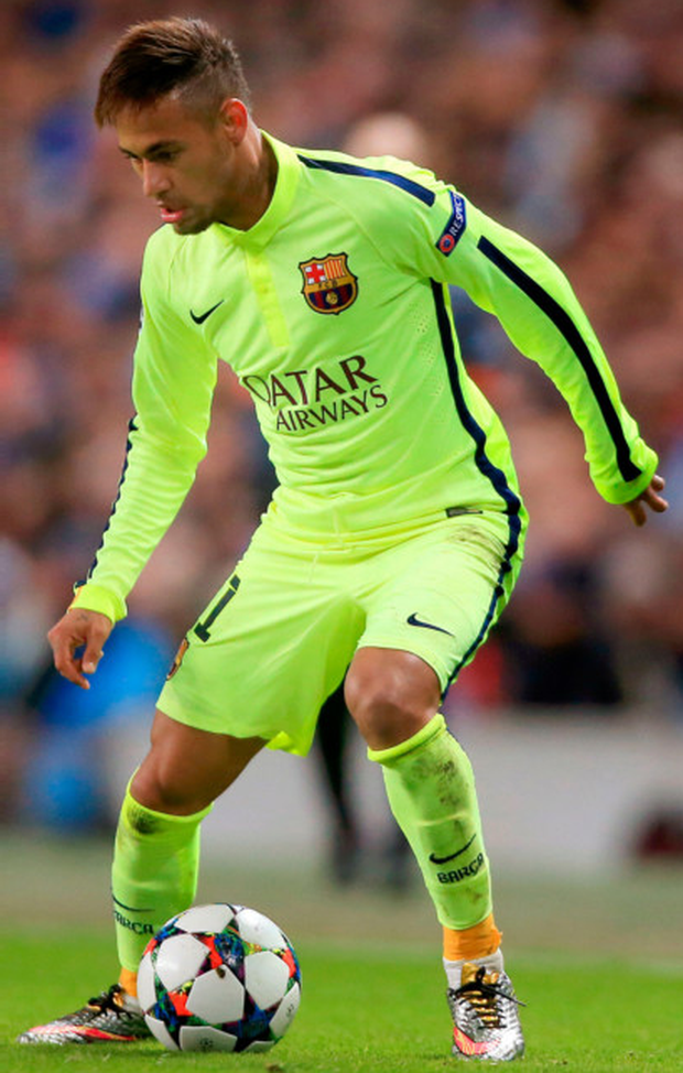 Brazilian forward Neymar