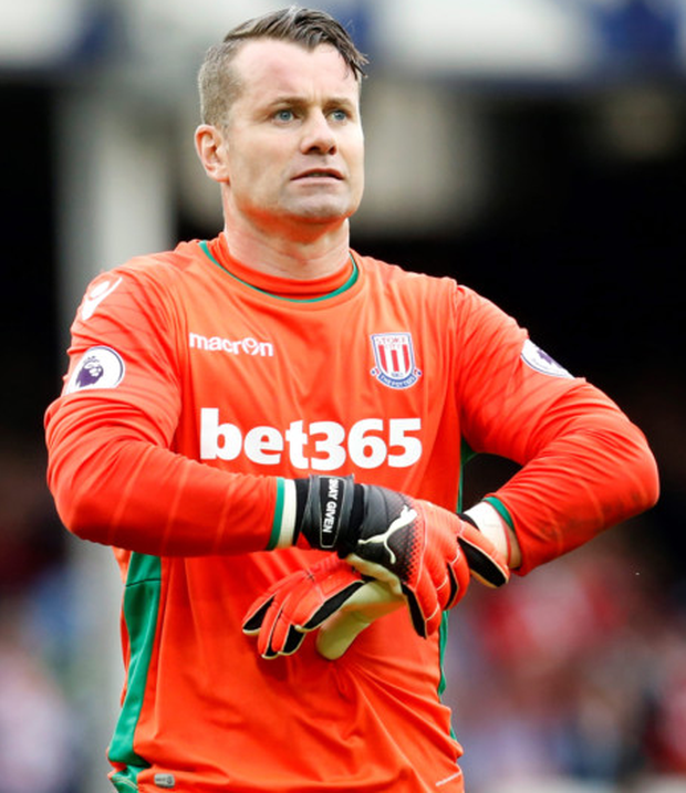 Shay Given wants to play on, but only in the Premier League or the Championship