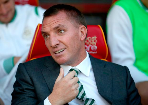 Celtic manager Brendan Rodgers has been linked with a move for Ajax Cape Town striker Rivaldo Coetzee