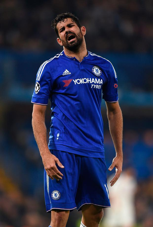 Diego Costa. Pic: PA