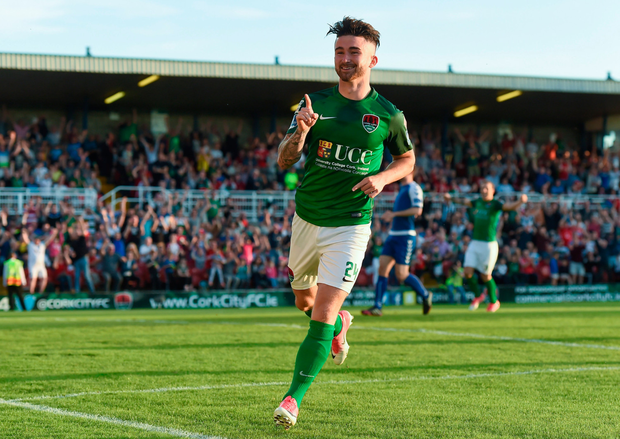 Striker Seán Maguire has a future at Irish senior level