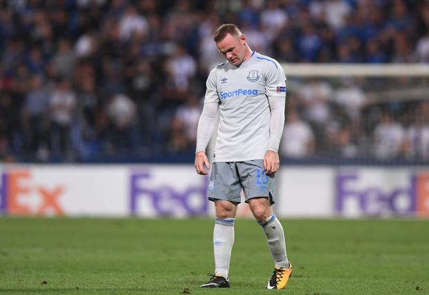 Everton's Wayne Rooney. Photo: Reuters