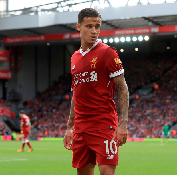Coutinho promises to 'give his best' at 'great club' Liverpool