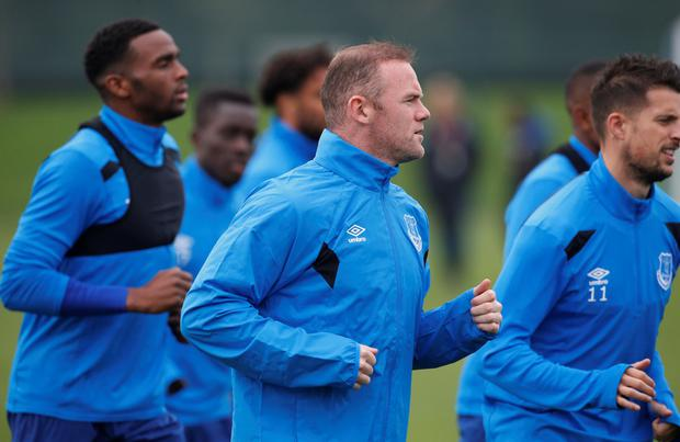 Wayne Rooney is fit to feature for Everton. Pic: Reuters