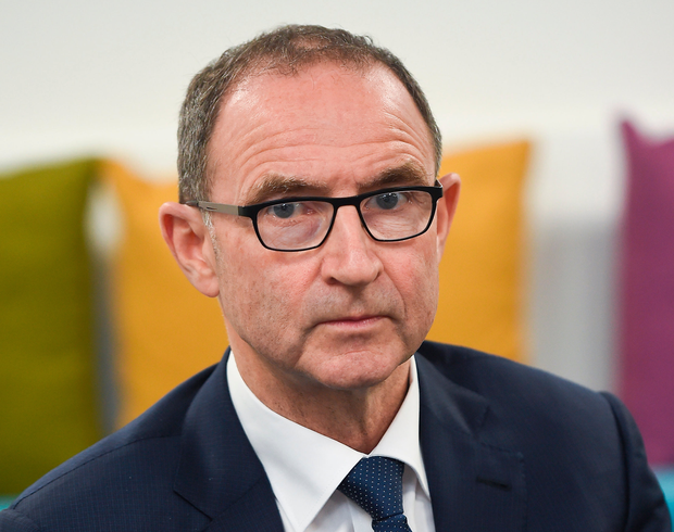 Rep of Ireland manager Martin O'Neill. Photo: Seb Daly / Sportsfile