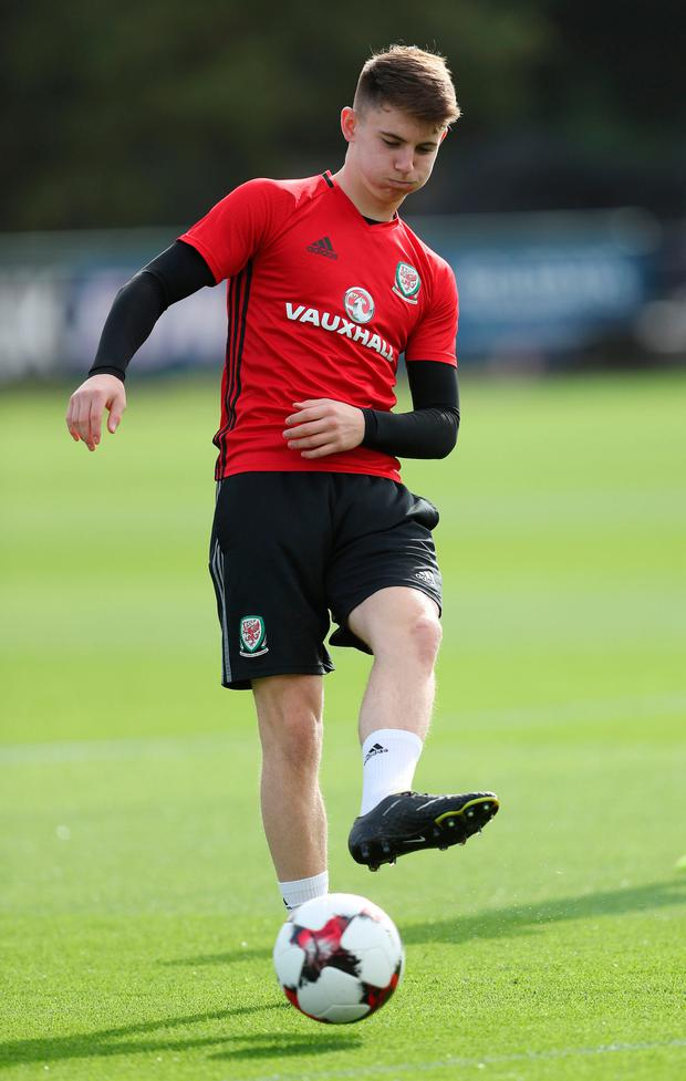 Wales' Ben Woodburn. Photo: David Davies/PA Wire