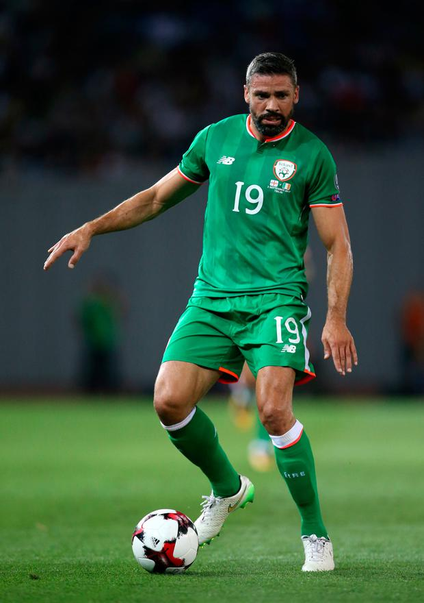 Jon Walters will miss Ireland's World Cup play-offs. Pic: PA