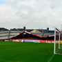A picture from Cork City's Turner's Cross home yesterday as the storm brought down the roof of the Derrynane Stand. Pic: Sportsfile