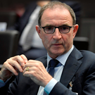 Republic of Ireland's coach Martin O'Neill during the 2018 World Cup European play-off draw in Zurich