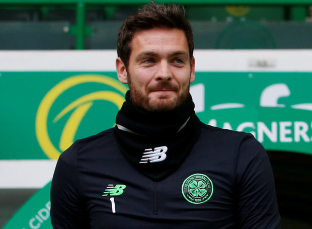 Celtic's Craig Gordon. Pic: Reuters