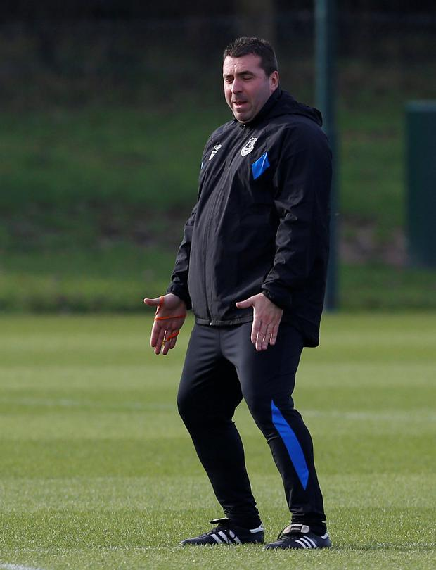David Unsworth. Pic: Reuters
