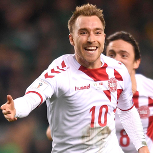 The brilliant Christian Eriksen led his country to next year's World Cup in Russia