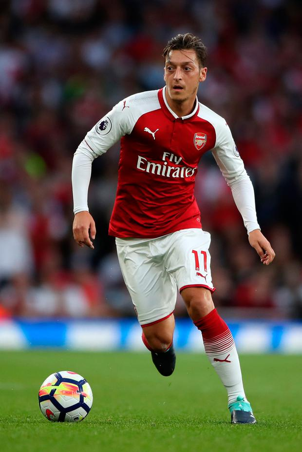 Mesut Ozil. Photo: PA Wire