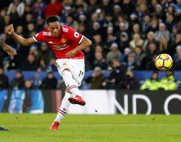 Anthony Martial Pic:Reuters