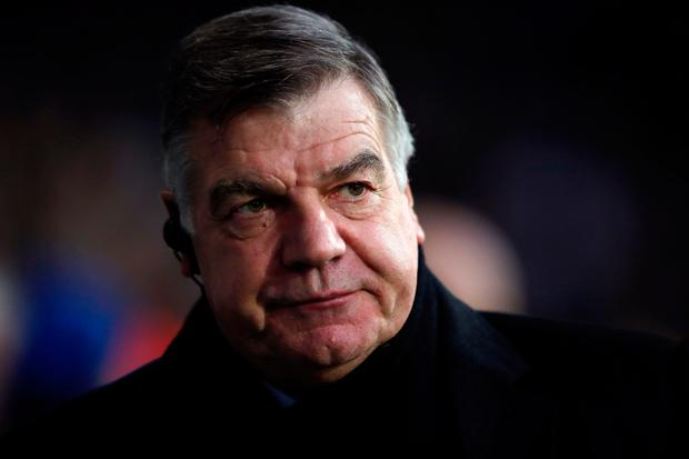 Sam Allardyce says Everton need to sign a striker in January