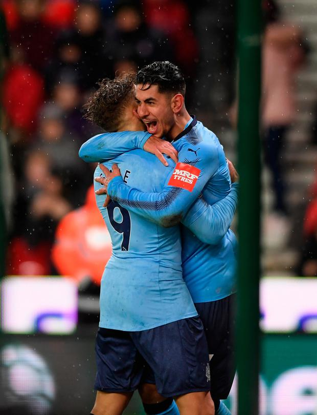Ayoze Perez netted a 73rd-minute winner. Pic: Getty Images