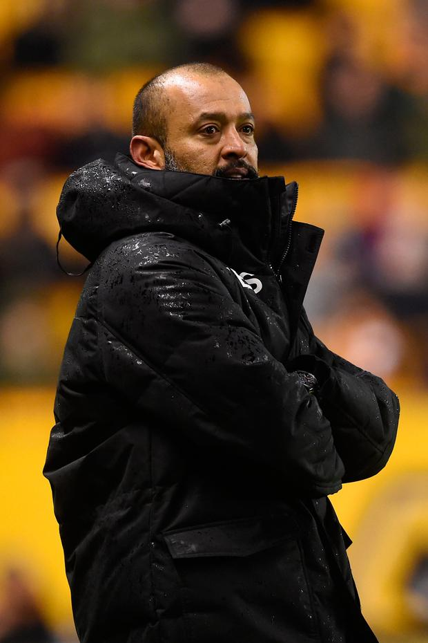 Nuno Espirito Santo. Photo: PA Wire