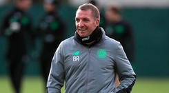 Celtic manager Brendan Rodgers. Pic: PA