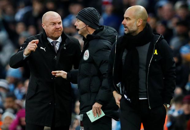 Pep Guardiola calls on Premier League managers to give referees a break