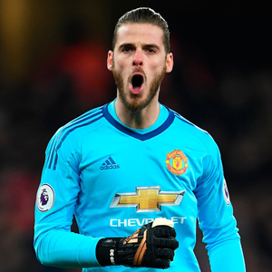 United keeper David de Gea