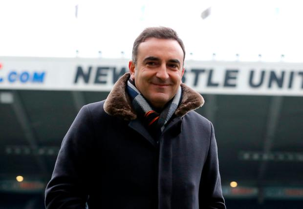 Swansea boss Carlos Carvalhal. Pic: PA