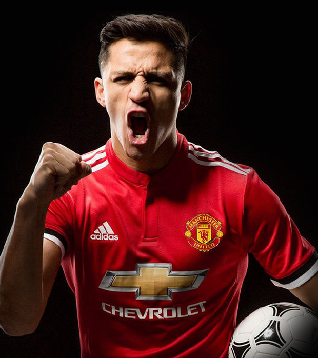 Alexis Sanchez has joined Manchester United on a on a four-and-a-half year deal