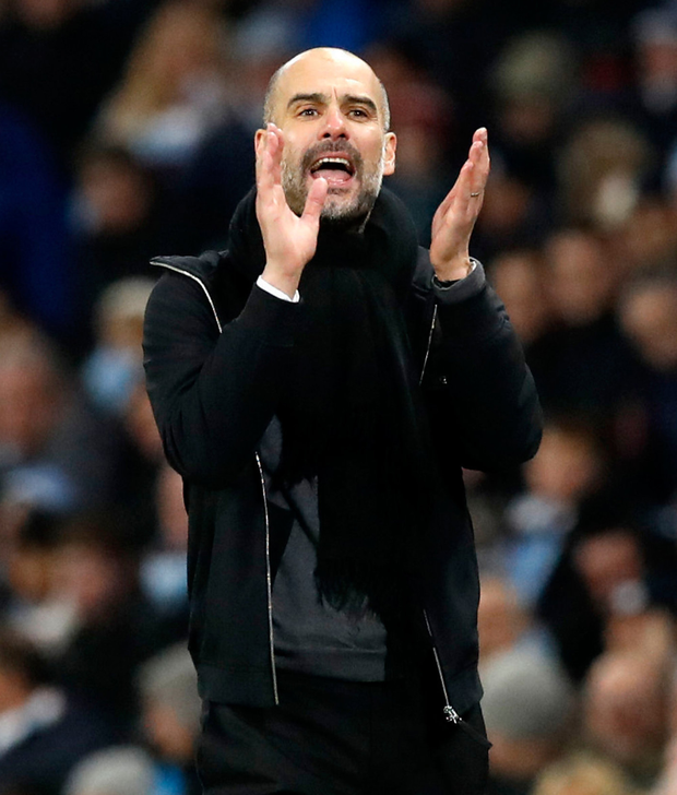 City boss Pep Guardiola