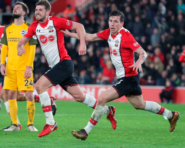 Saints' goal struggles continue in draw with battling Brighton side