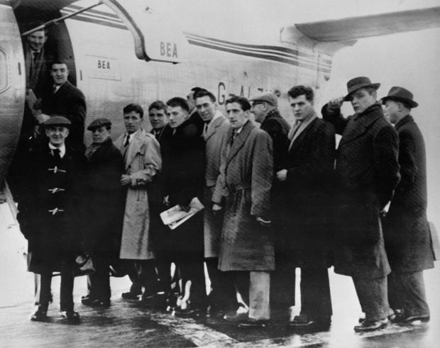 Manchester United manager Jose Mourinho has called on his side to put on a performance in tribute to the Busby Babes (pictured), eight of whom perished in the Munich Air Disaster of February 6th, 1958
