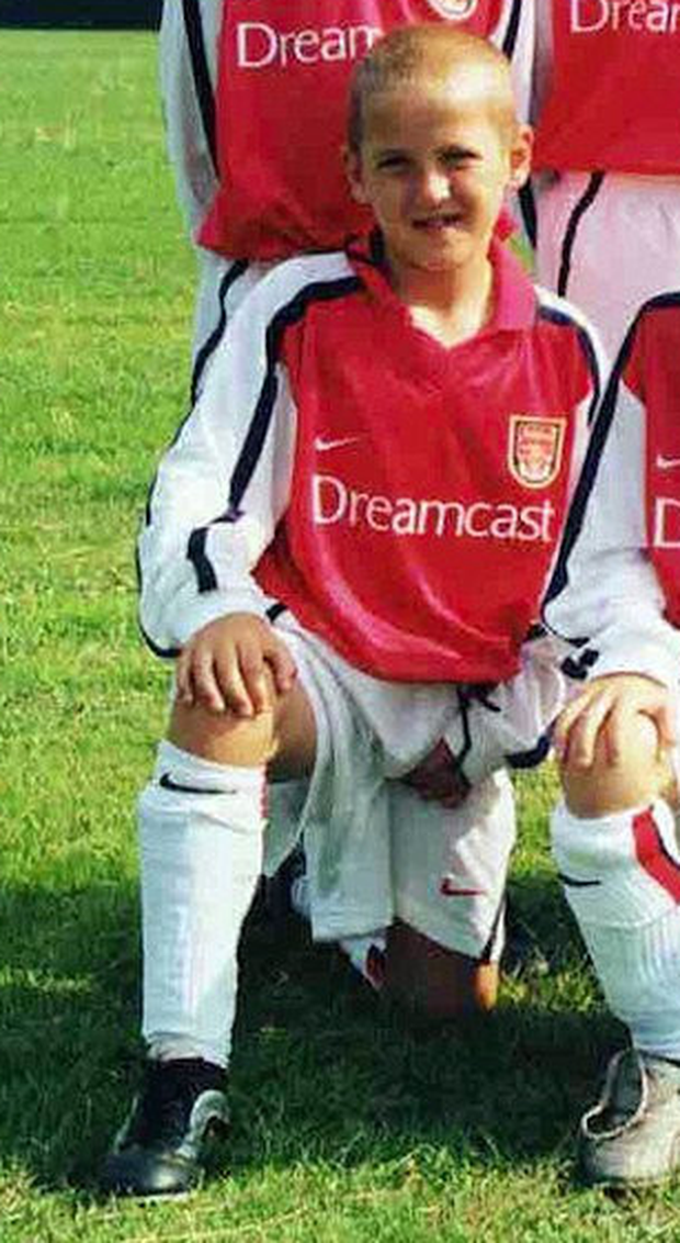 Harry Kane was released by Arsenal as a young boy