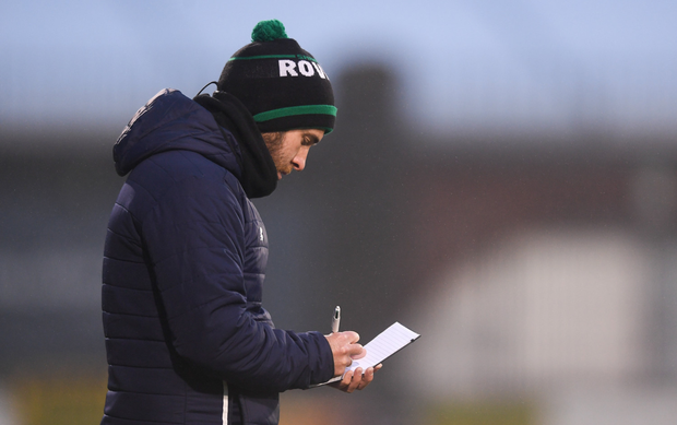 TAKING NOTES: Stephen Bradley. Pic: Sportsfile