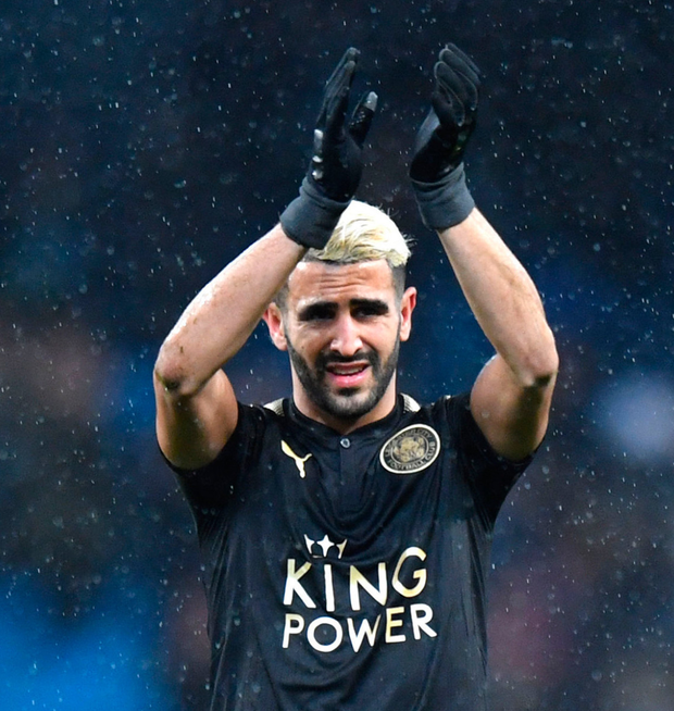 Manchester City respond to 'disrespect' claims from Leicester boss over Mahrez pursuit