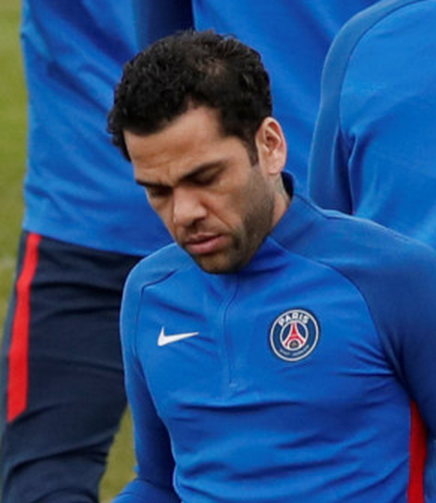 Paris St Germain's Dani Alves