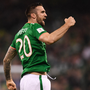 Green shoots: Shane Duffy (right) is looking forward to working with some new faces in the Ireland squad